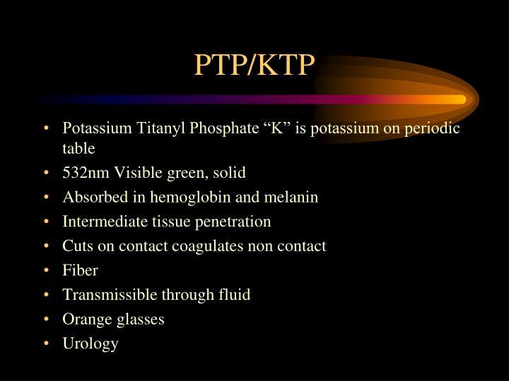 PTP/KTP