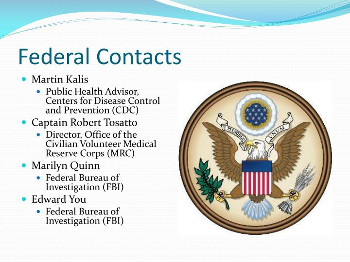 Federal Contacts
