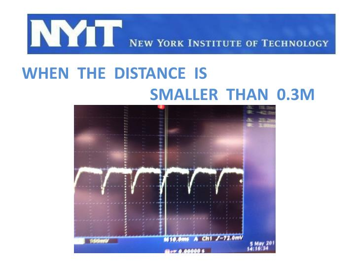 When  the  distance  is