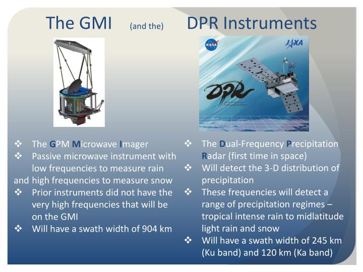 The GMI