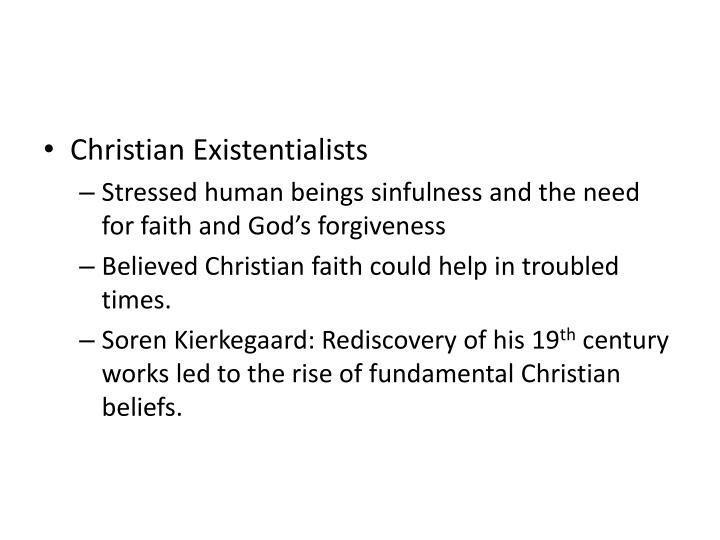 Christian Existentialists