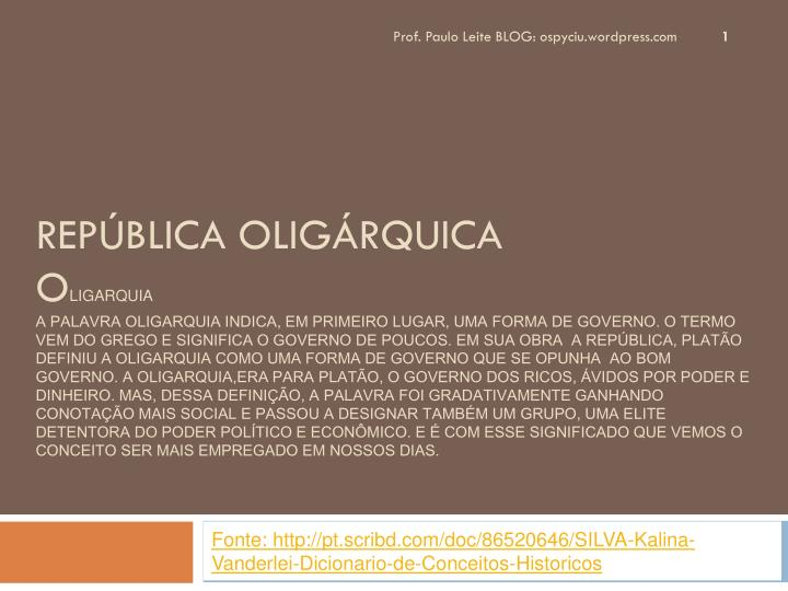 Prof. Paulo Leite BLOG: ospyciu.wordpress.com