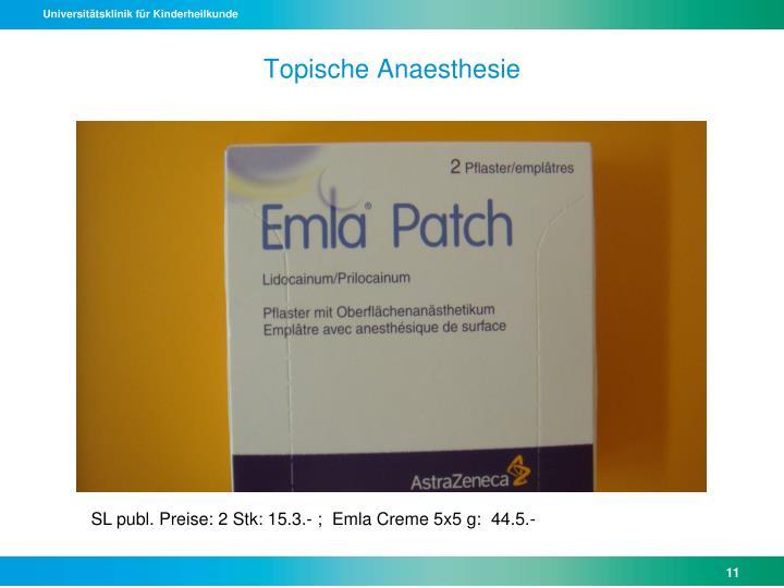 Topische Anaesthesie
