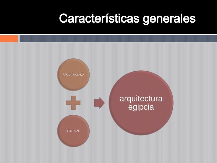 Caractersticas generales