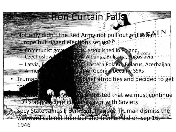 Iron Curtain Falls