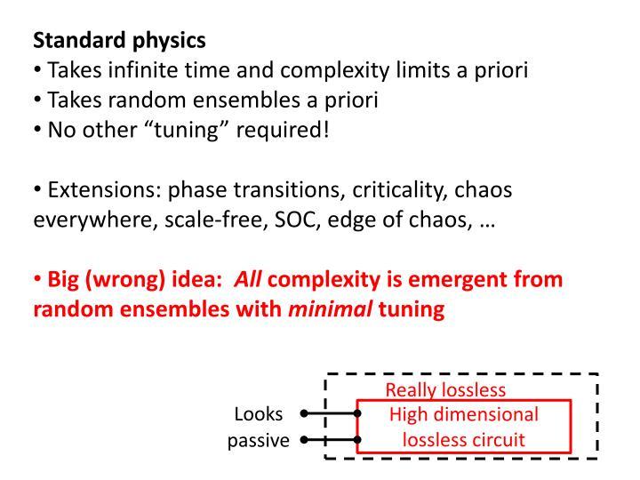 Standard physics