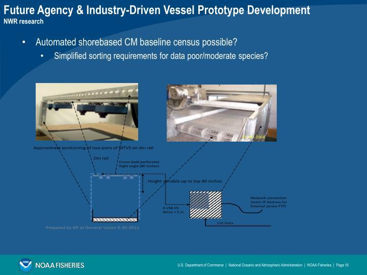 Future Agency & Industry-Driven Vessel Prototype Development