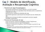 cap 3 modelo de identifica o avalia o e recupera o cognitiva