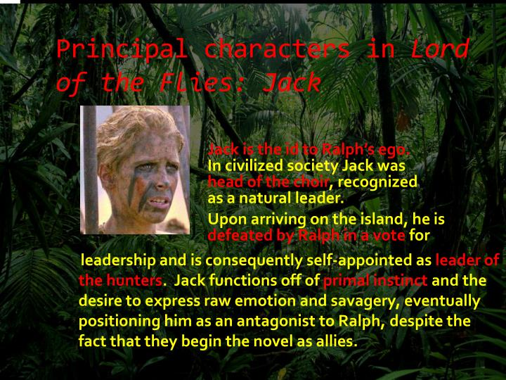 lord of the flies jack merridew character analysis