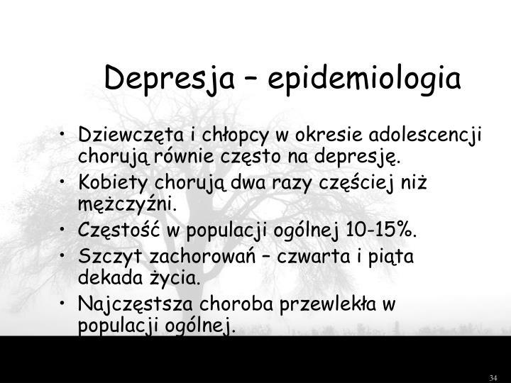 Depresja – epidemiologia