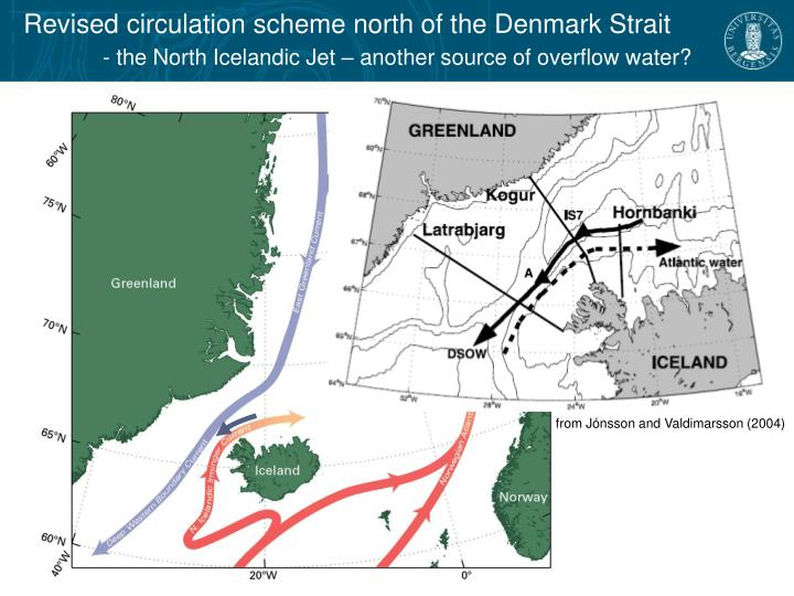 Revised circulation scheme north of the Denmark Strait