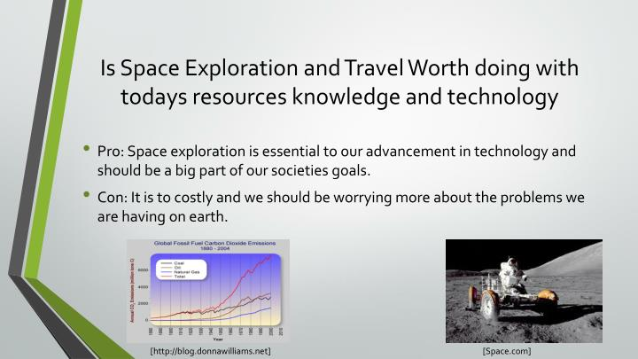 Is Space Exploration