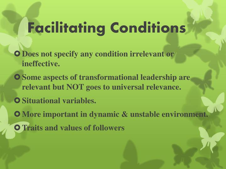 Facilitating Conditions