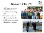 namaste solar co