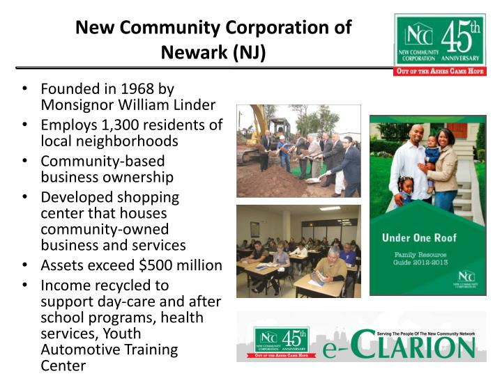 New Community Corporation of