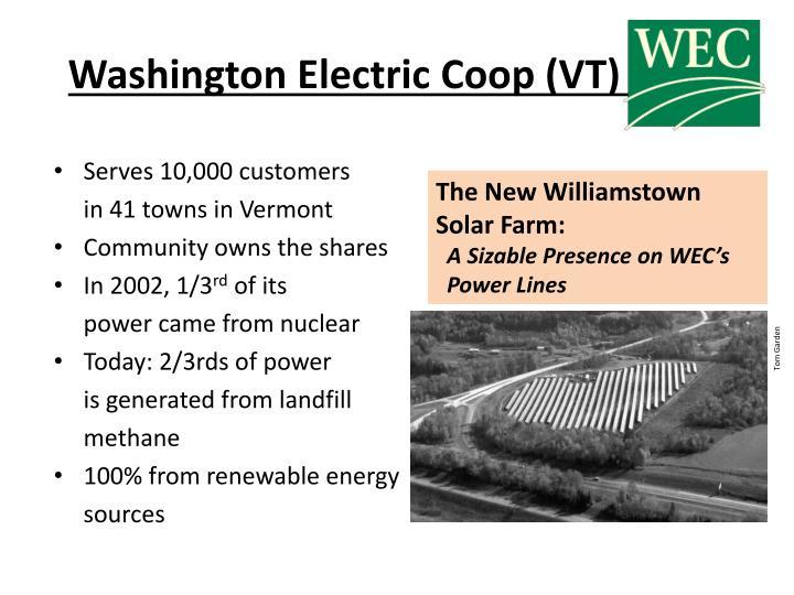 Washington Electric Coop (VT)