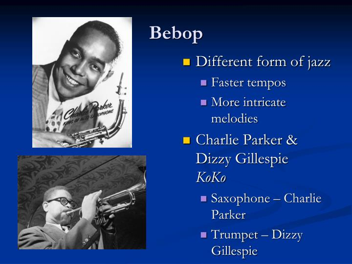 Different form of jazz