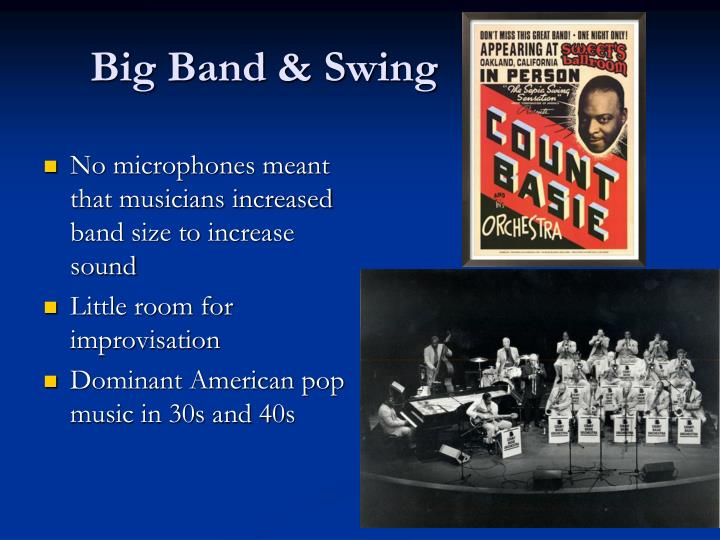 Big Band & Swing