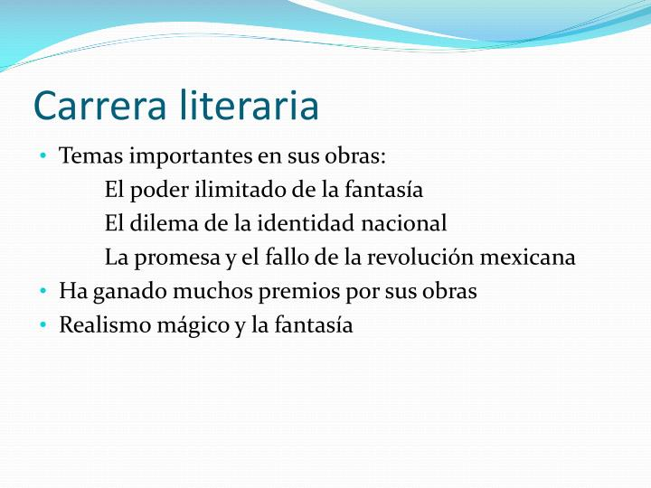 Carrera literaria