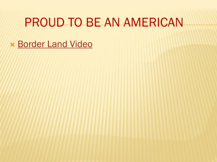 Border Land Video