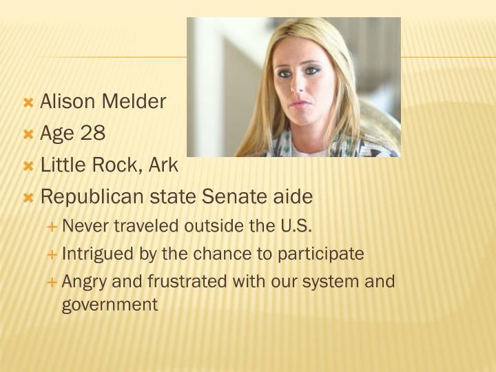 Alison Melder