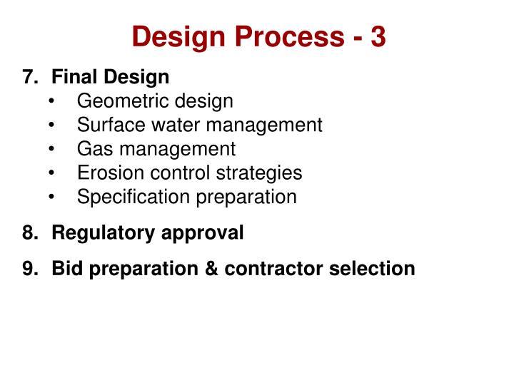 Design Process - 3