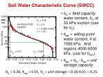 soil water characteristic curve swcc