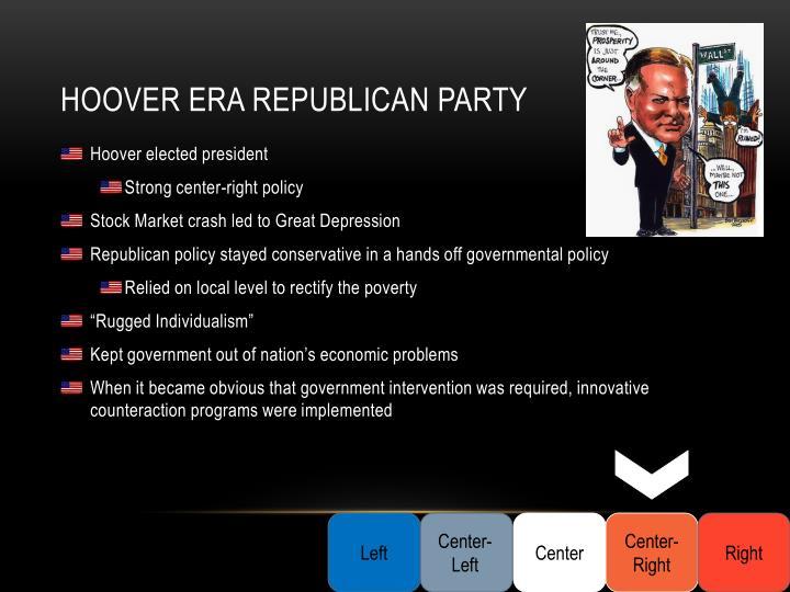 Hoover Era Republican Party