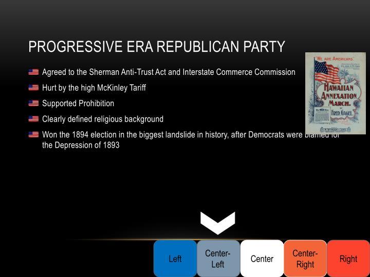 Progressive Era Republican Party