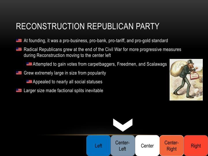 Reconstruction Republican Party
