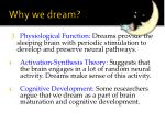 why we dream1