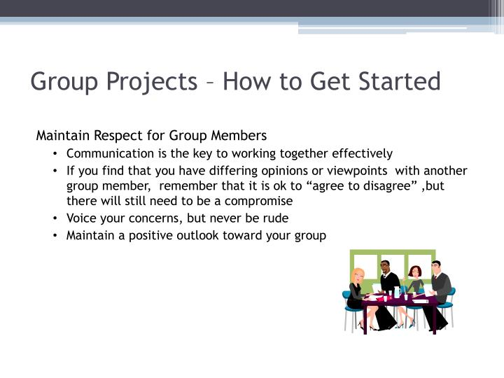 Group Projects – How to Get Started