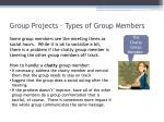 group projects types of group members2