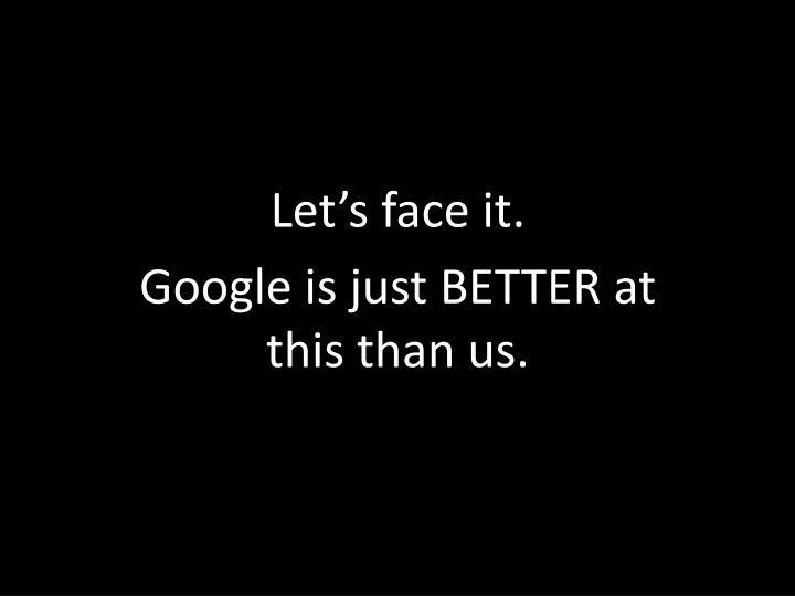 Let's face