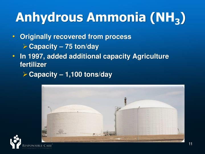 Anhydrous Ammonia (