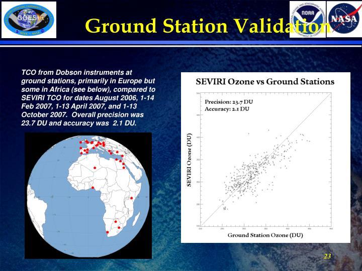 Ground Station Validation
