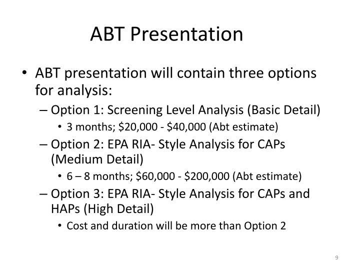 ABT Presentation