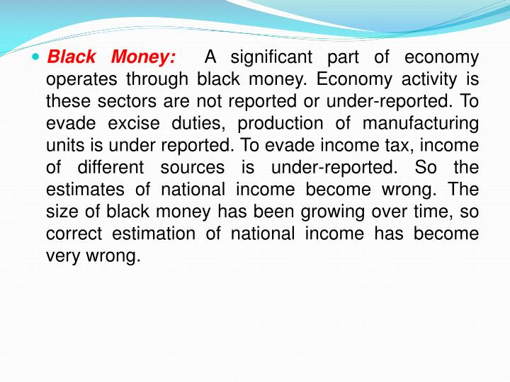 Black Money: