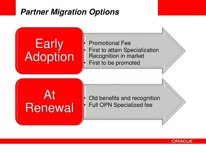 Partner Migration