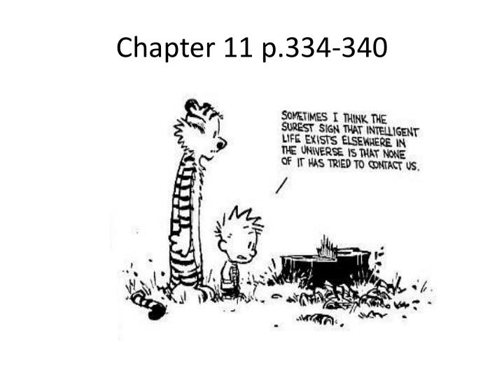 Chapter 11 p.334-340