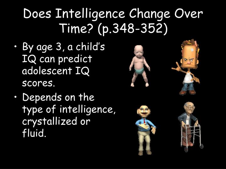 Does Intelligence Change Over Time? (p.348-352)