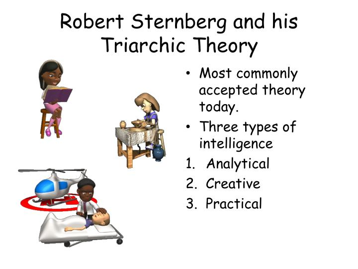 Robert Sternberg and his