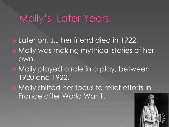 Molly's  Later Years