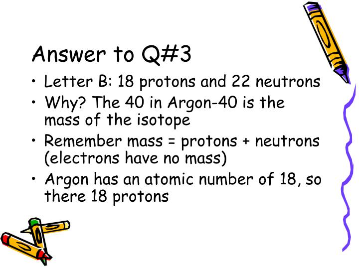 Answer to Q#3
