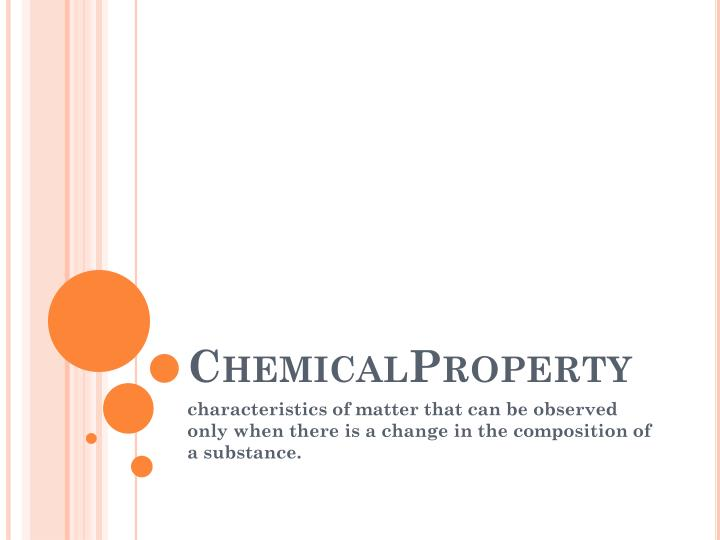 ChemicalProperty
