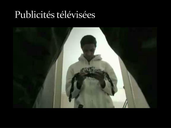 Publicités télévisées