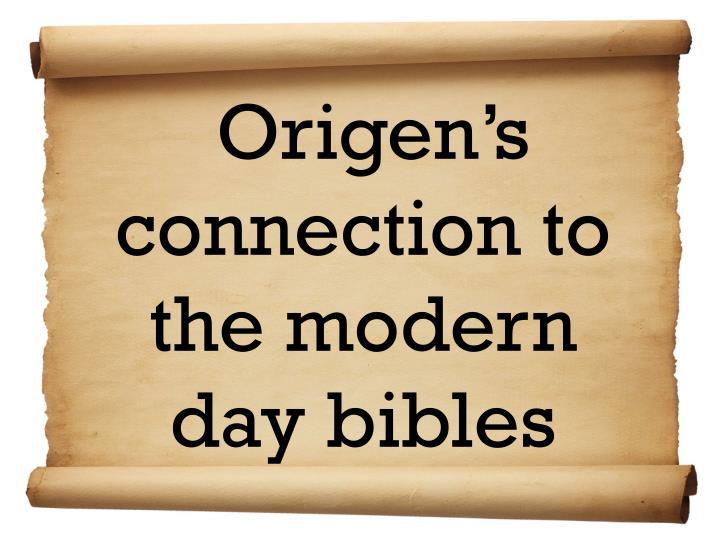 Origen's