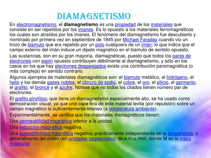 diamagnetismo