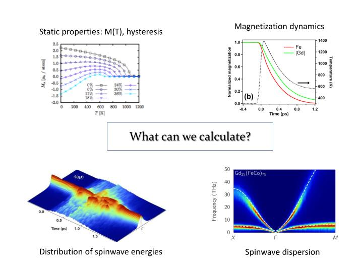Magnetization dynamics