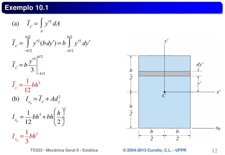Exemplo 10.1